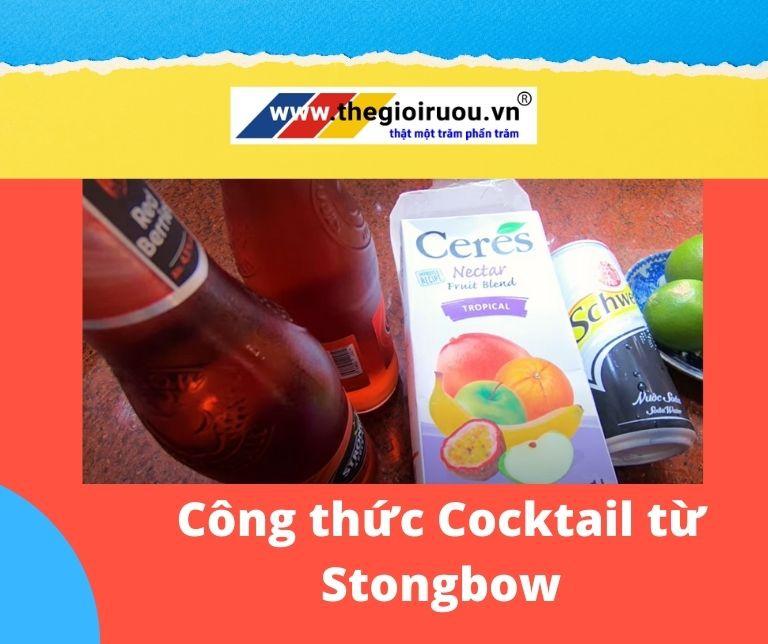 Công thức Cocktail từ Stongbow đơn giản mà ngon