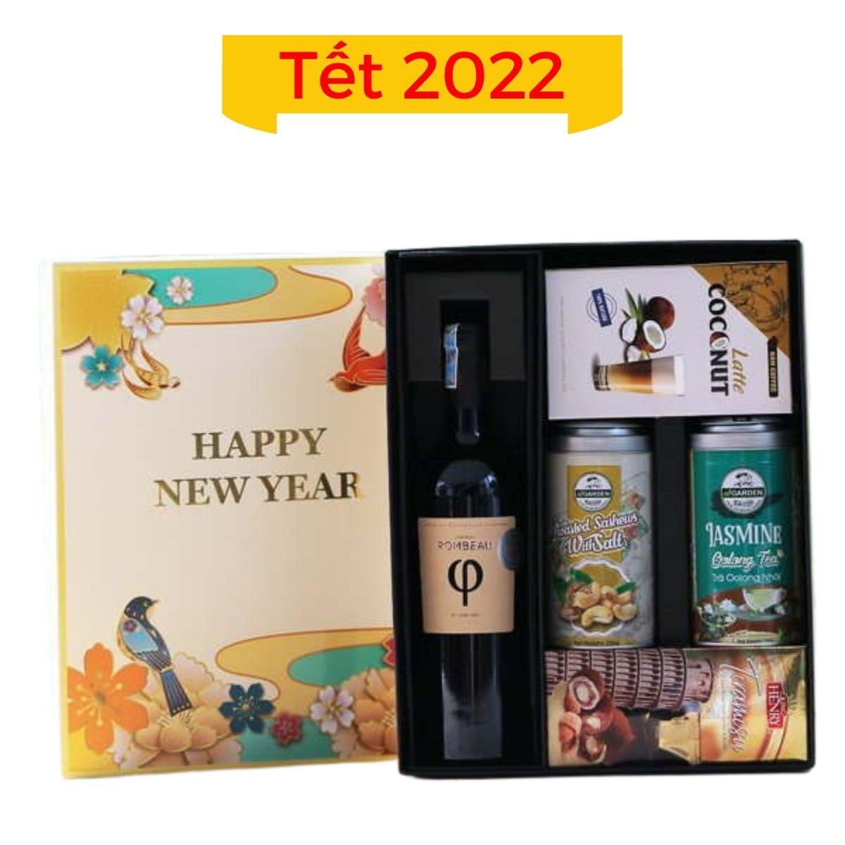 Hộp quà Tết 2022 mẫu 03