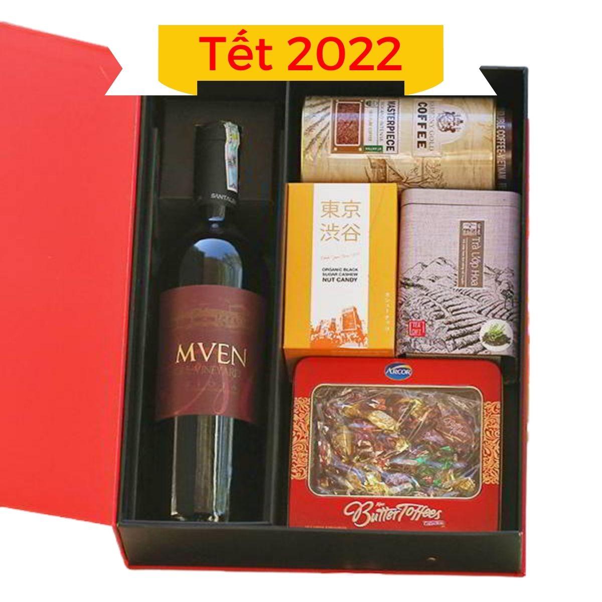 Hộp quà Tết 2022 mẫu 04