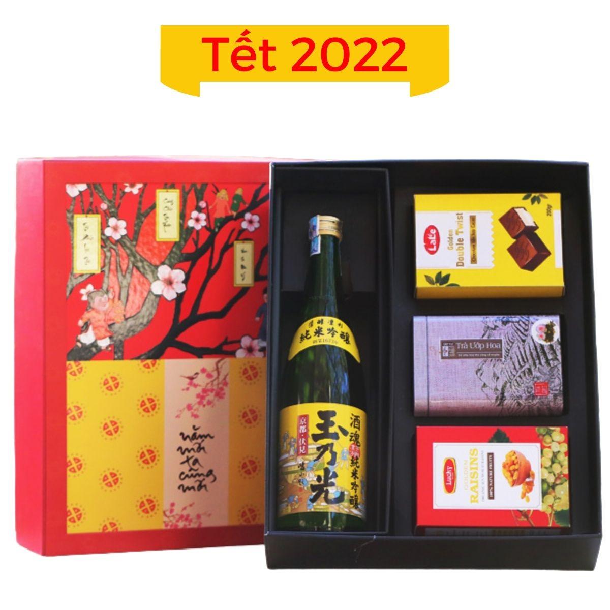 Hộp quà Tết 2022 mẫu 05