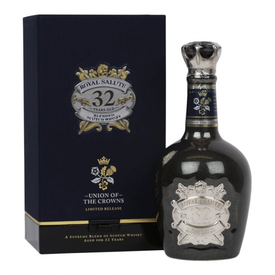 RƯỢU CHIVAS 32 NĂM ROYAL SALUTE - UNION OF THE CROWNS